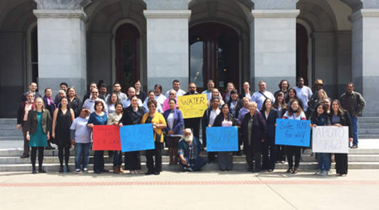 San Joaquin Valley residents rally for safe water