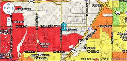 Abogo map of new EPA Reg 7 HQ (via Abogo)
