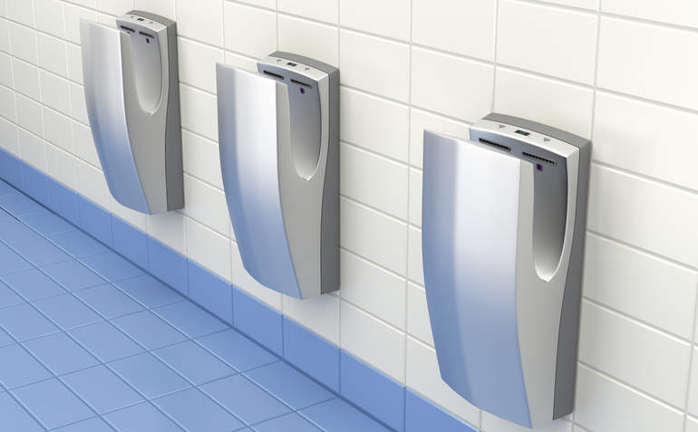 More Than Hot Air Which Hand Dryers Save Energy Dry Fast Greenbiz