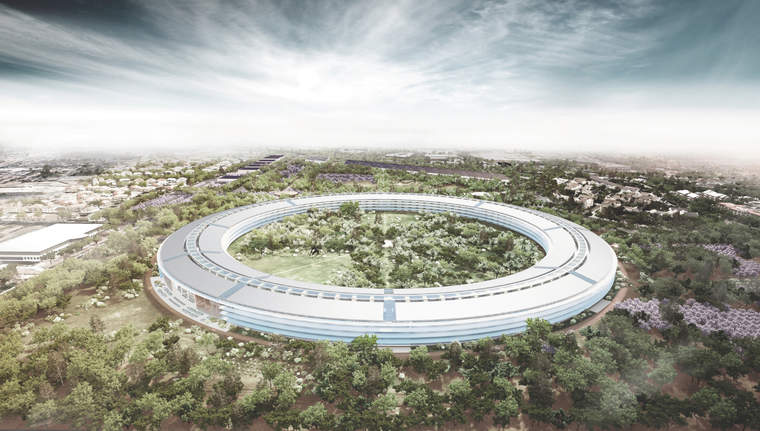 Design for Apple's new headquarters