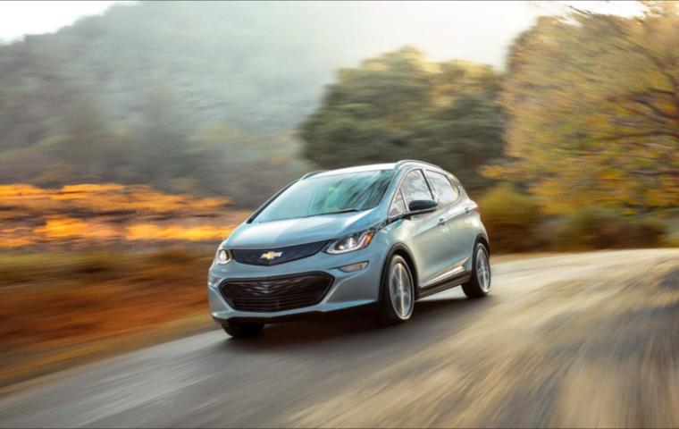 GM Chevy Bolt Maven Lyft ridesharing. General Motors