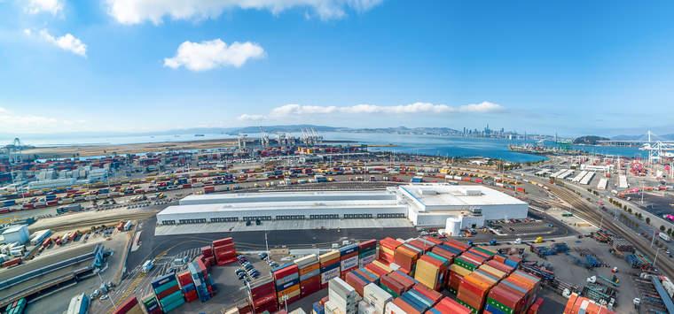 Lineage Logistics, warehouse