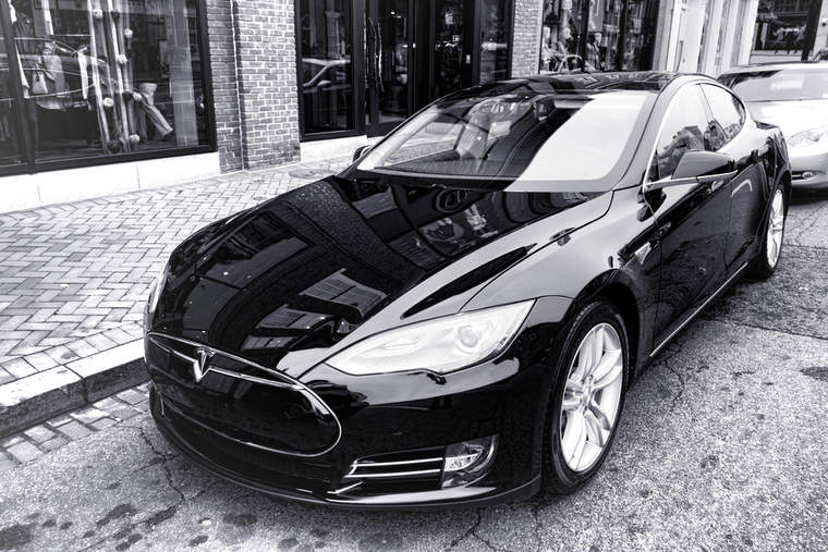 Tesla electric vehicles luxury cars