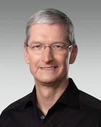 Apple CEO Tim Cook.