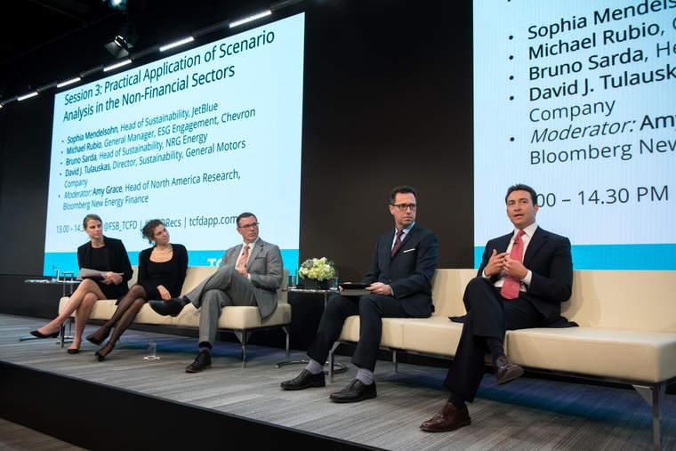 TCFD, Bloomberg