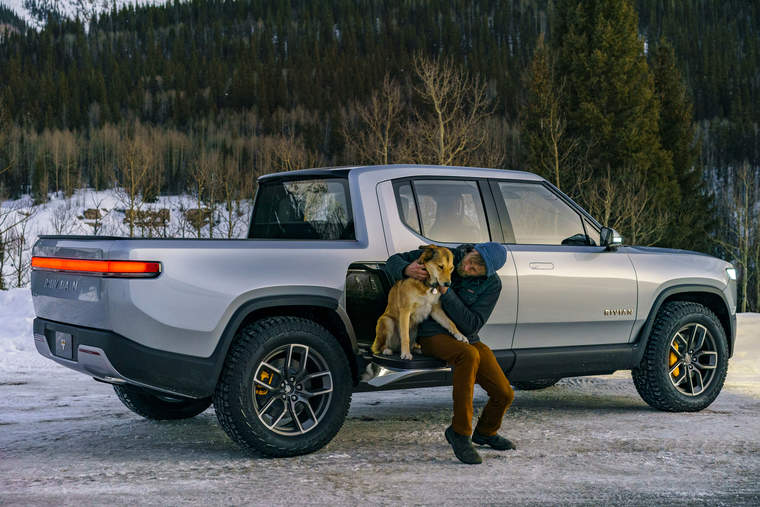 Rivian's electric R1T pickup truck