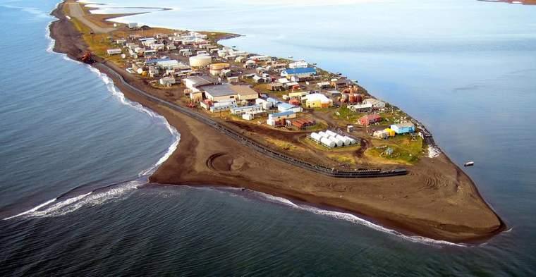 Alaskan village of Kivalina