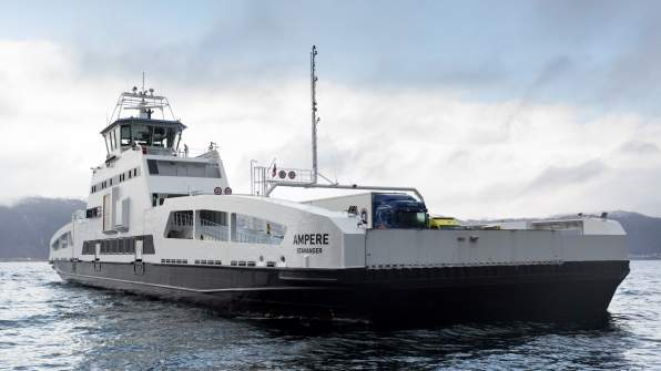 electric ferry, siemens