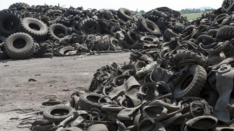 Black Bear, tire recycling