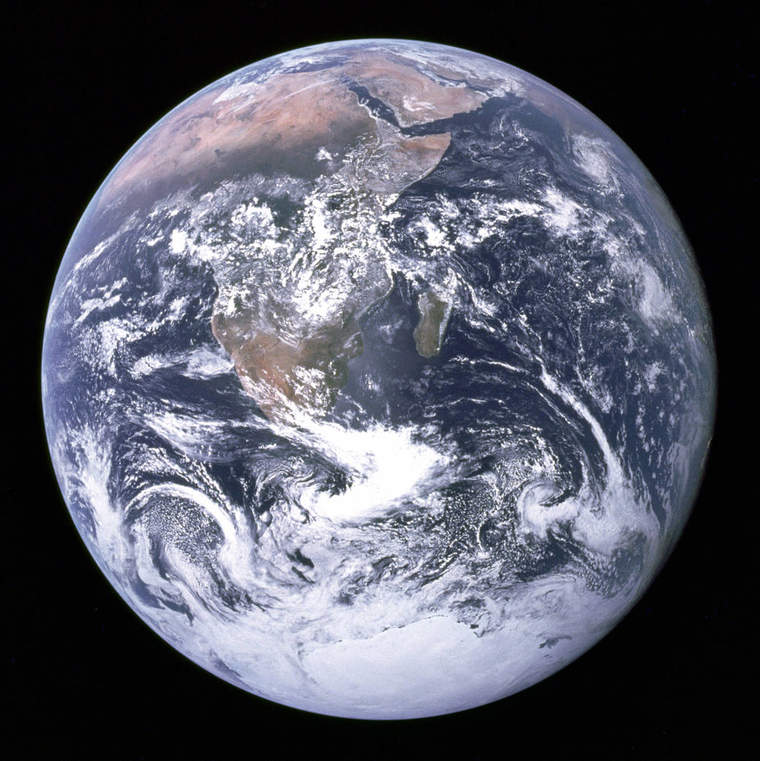 """Blue marble"" Earth image from 2015"