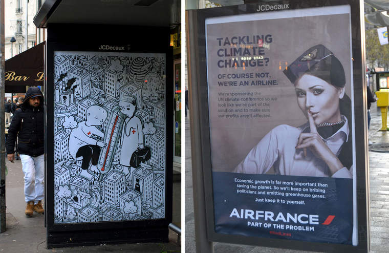 Tackling climate change? Of course not. We're an airline.
