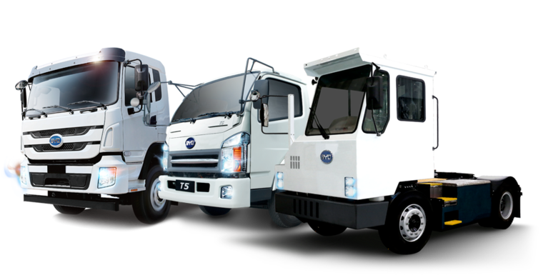 BYD electric truck