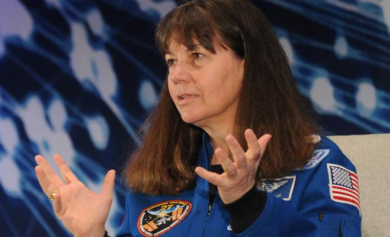 Astronaut Cady Coleman of NASA