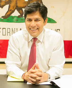 California Senate President pro Tempore Kevin de León