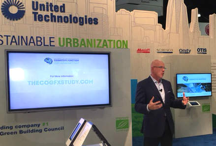 United Technologies CSO John Mandyck presents the latest COGFX research at Greenbuild 2016.