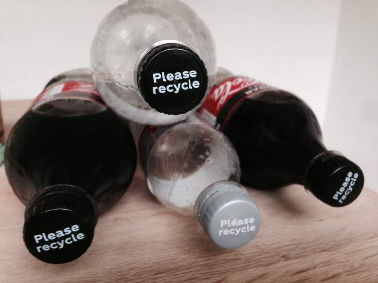 reuse recycle bottles