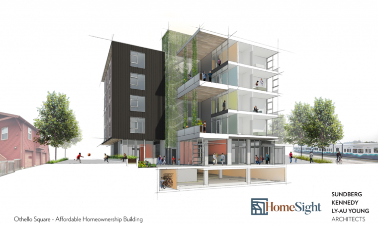 Othello Square Affordable Homeownership Building