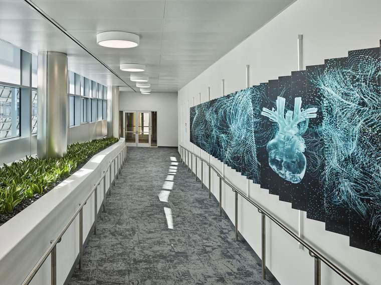 corridor in the Unisphere