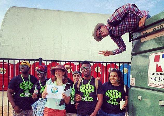 Green Is the New Black with the Dumpster Project