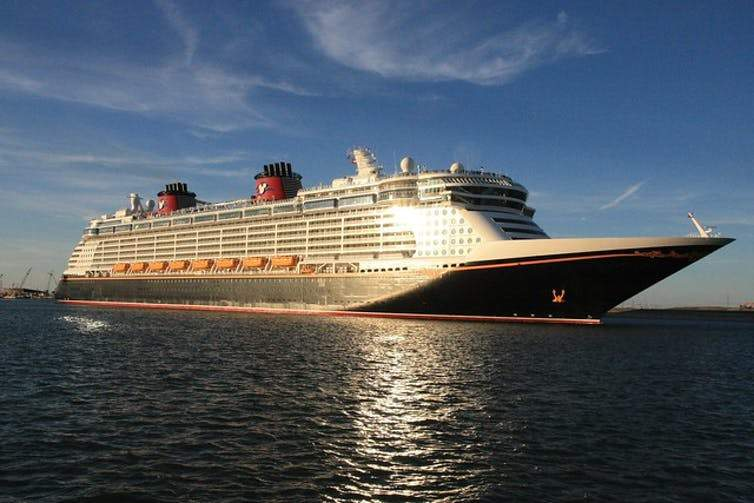 The Disney Cruise Line