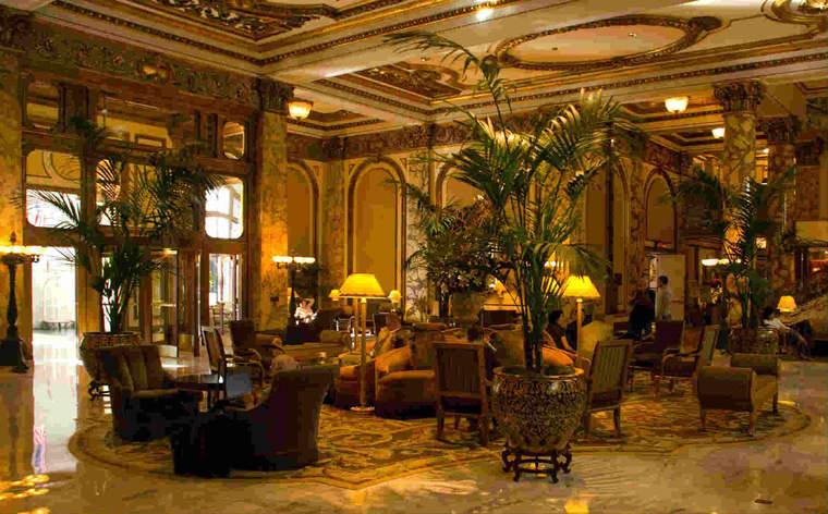 Fairmont SF lobby 2007