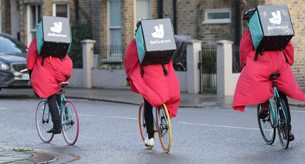 Bicycle-based delivery