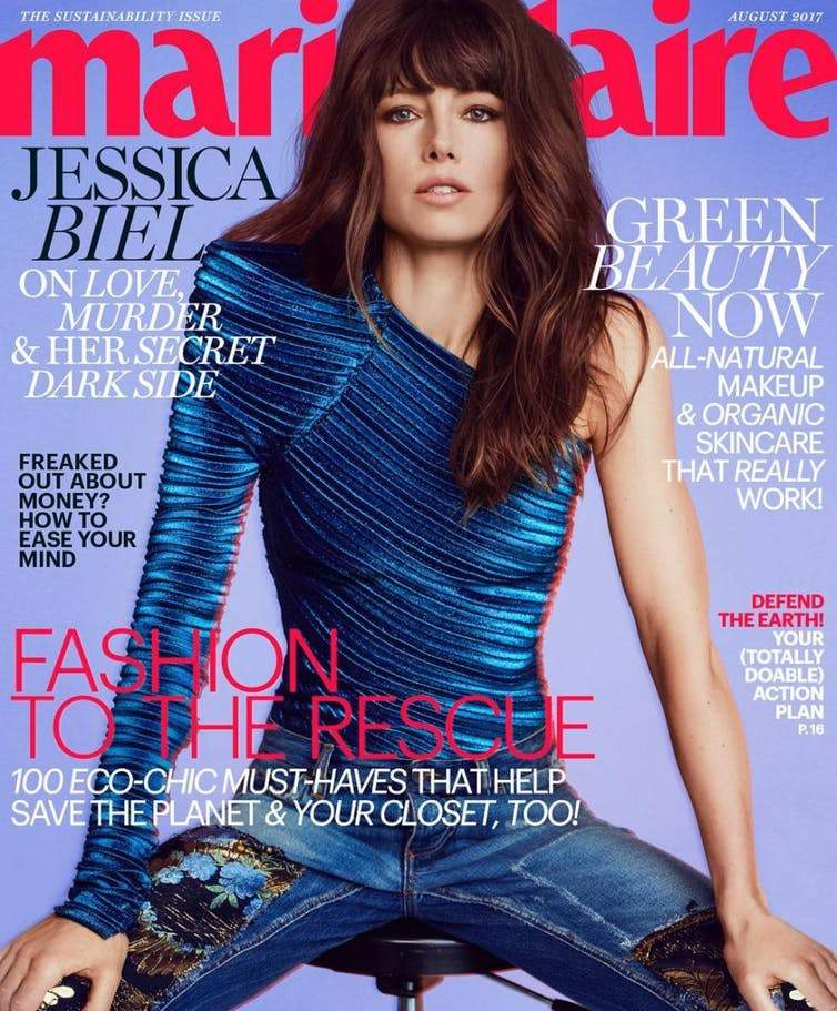 Marie Claire sustainability