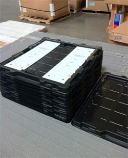 Finelite circuit board crates