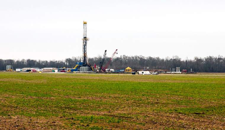 Fracking on the Haynesville Shale in Northwest Louisiana