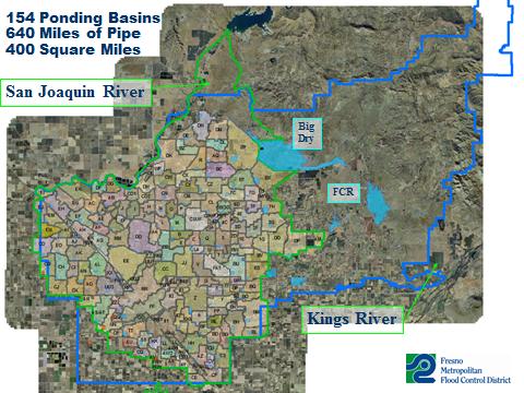 Fresno flood map