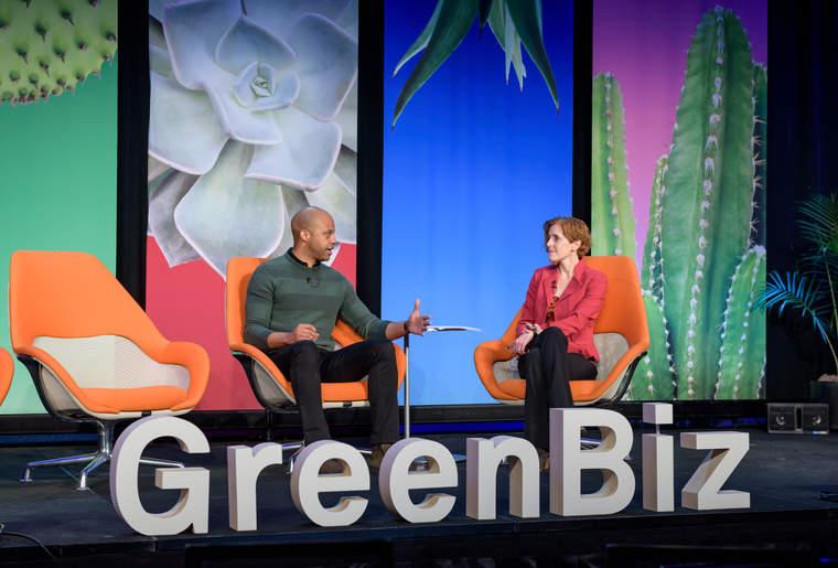 GreenBiz mainstage Justin Whitmore