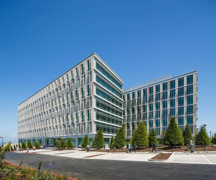 Genentech Lawrence Berkeley Lab energy efficiency green building