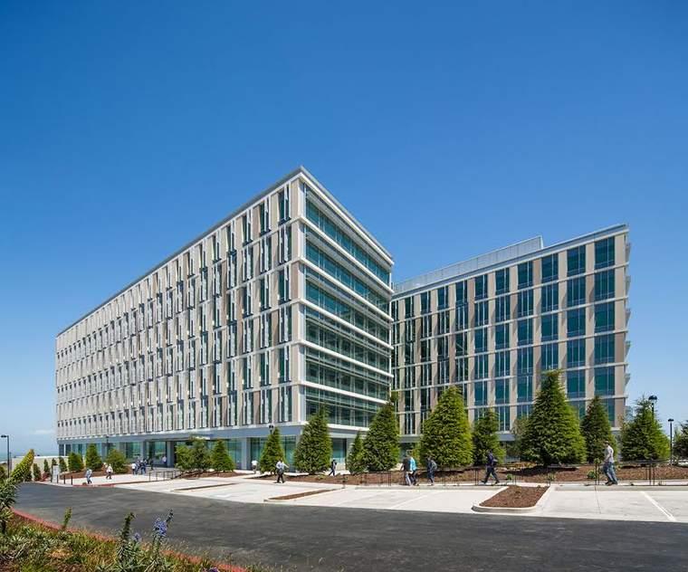 Genentech Lawrence Berkeley Lab energy efficiency green building