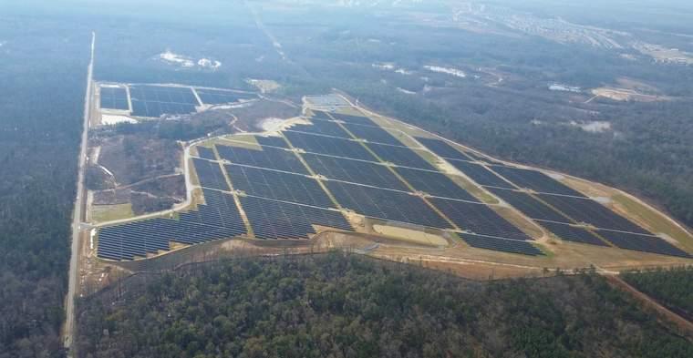 Fort Benning solar facility