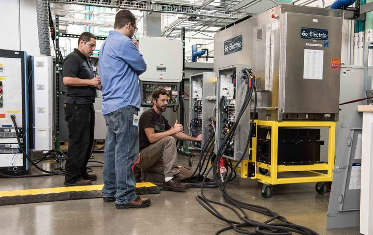 NREL researchers work with tech startups such as Go Electric that are in Wells Fargo's IN2 program.