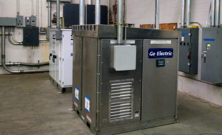 Go Electric's system at a government installation in Hawaii