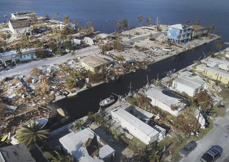 Hurricane Irma in the Florida Keys