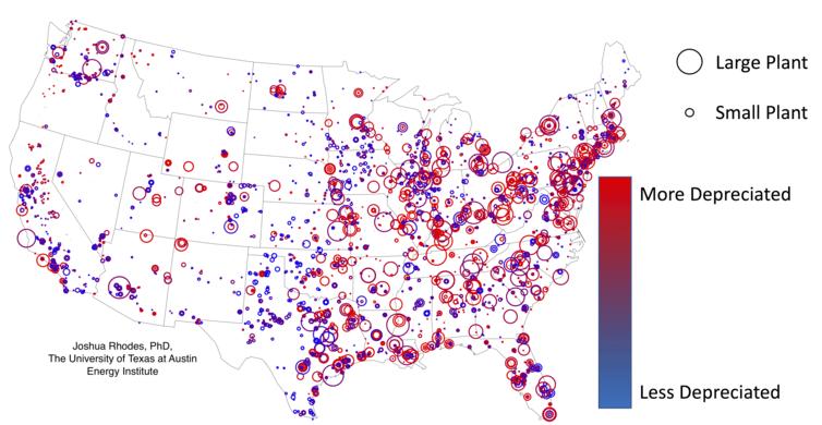 U.S. power plant depreciation