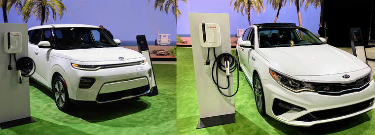 plug-in Kia models