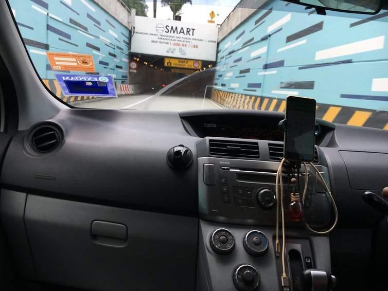smart tunnel in Kuala Lumpur
