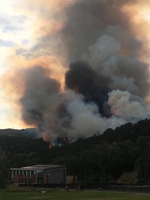 Lake Christine Fire