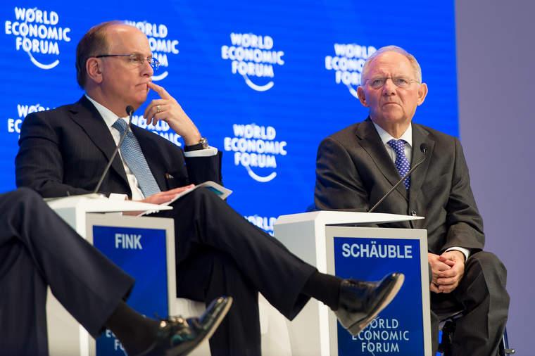 Larry Fink at Davos