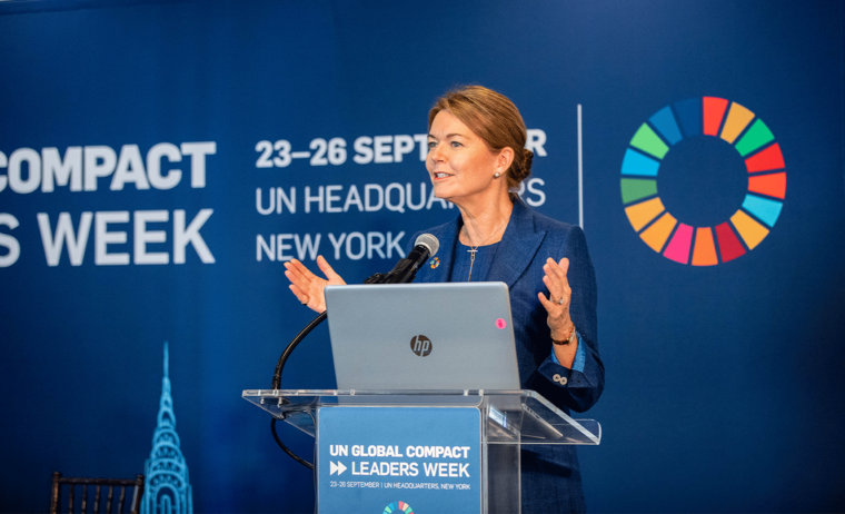 Lise Kingo, CEO of UN Global Compact