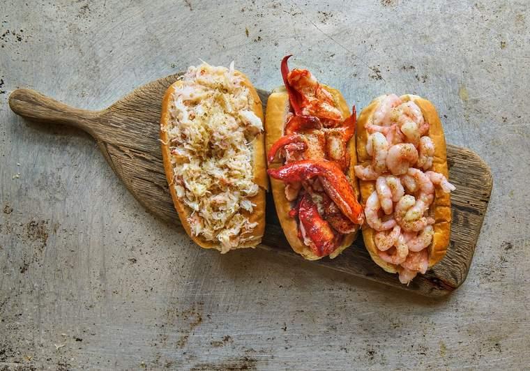 Luke's Lobster's seafood