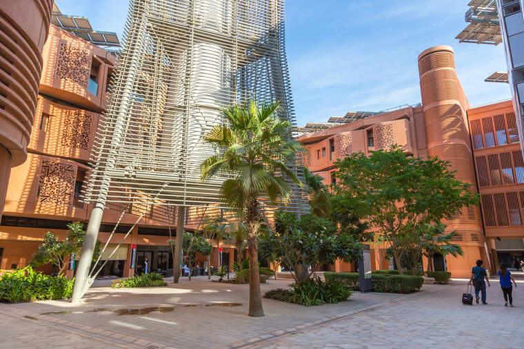 Masdar City in Dubai, billed to beome the first fully sustainable city in the world.