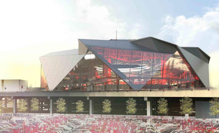 New Atlanta stadium rendering