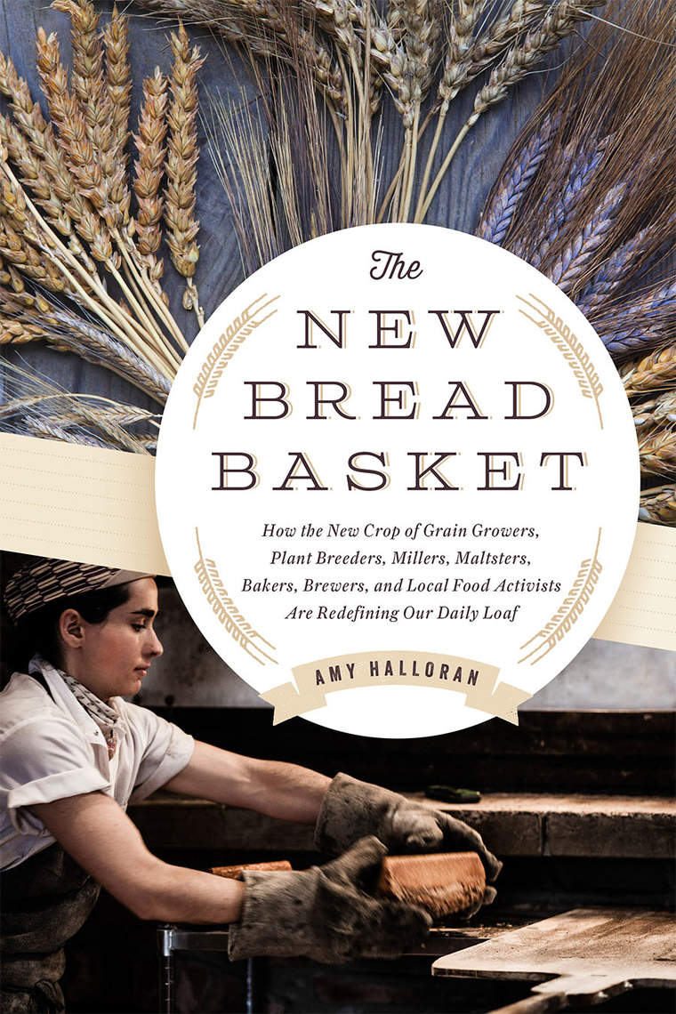 Cover of the New Bread Basket book