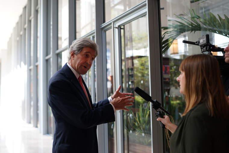 John Kerry, Climate Week