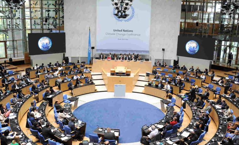 U.N. climate talks in Bonn, Germany in October 2014