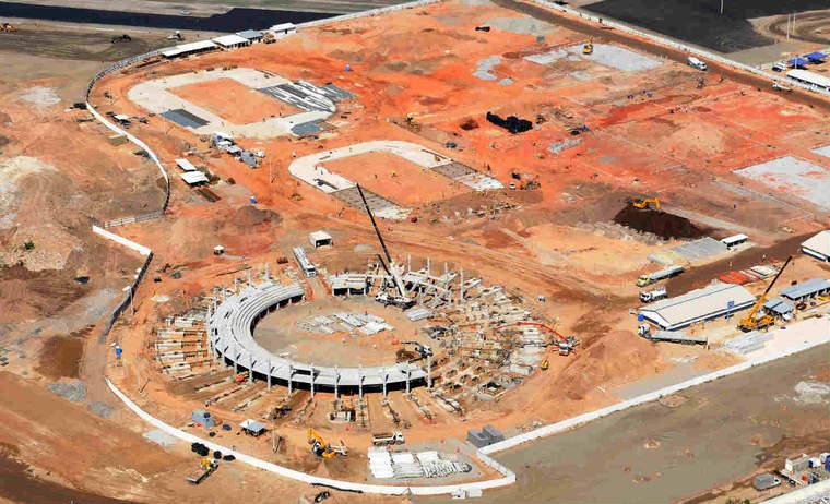 2016 Olympics construction